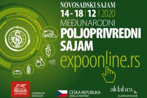 Novosadski Međunarodni sajam poljoprivrede onlajn od 14. do 18 decembra