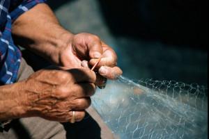 Pletenje ribarskih mreža - veština koja nestaje