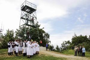 I planinari koriste EU sredstva, Ivanečka piramida zasjala u novom ruhu
