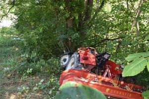 U prevrtanju traktora život izgubio 50-godišnjak