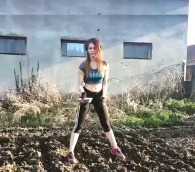 Rad u polju je prirodna teretana