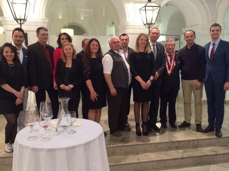 Bh vina predstavljena u Beču