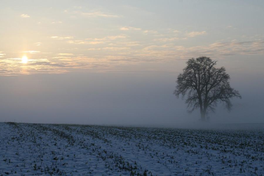 Smenjivanje sunca i oblaka