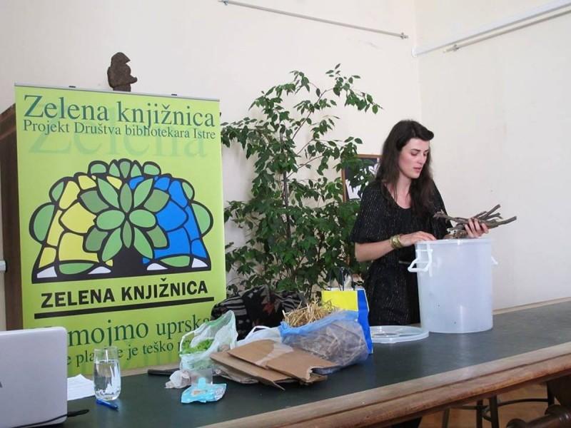Predavanje o branju samoniklog bilja u Puli
